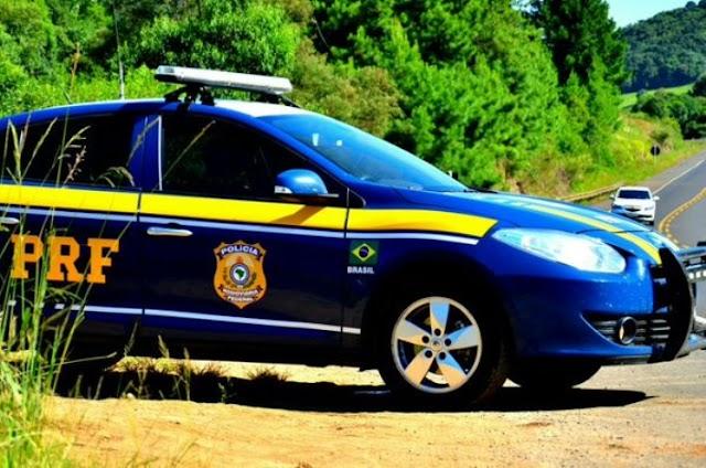 PRF de Mauá da Serra detém três suspeitos de furtos em Ortgueira