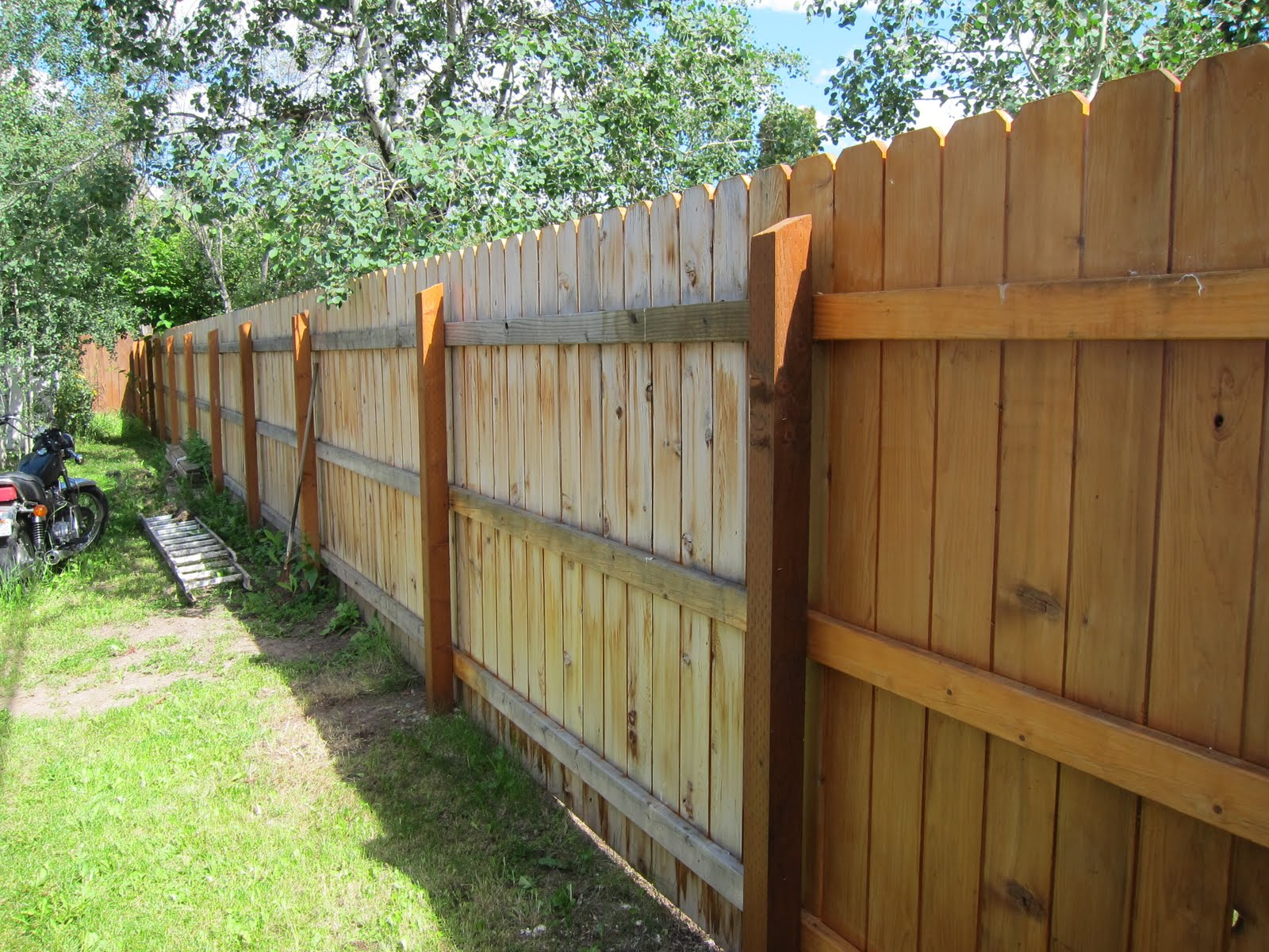Videopaintguide How To Stain Your Deck Fence Removing