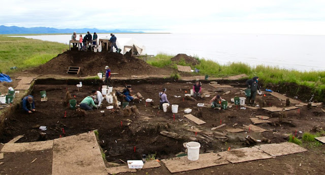 Returning large Alaskan archaeological haul found 'frozen in time'