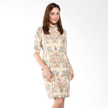 Contoh Baju Batik Kerja Modis Modern Terbaru