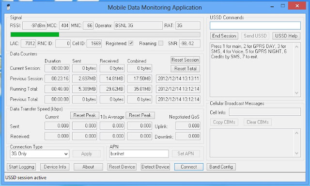 Data Counters Group Huawei Devices Only The Data Transmitted And