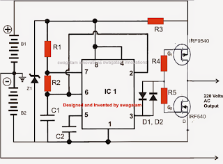 How to Make a Transformerless Solar Inverter Circuit