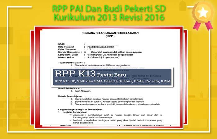 RPP Budi Pekerti SD