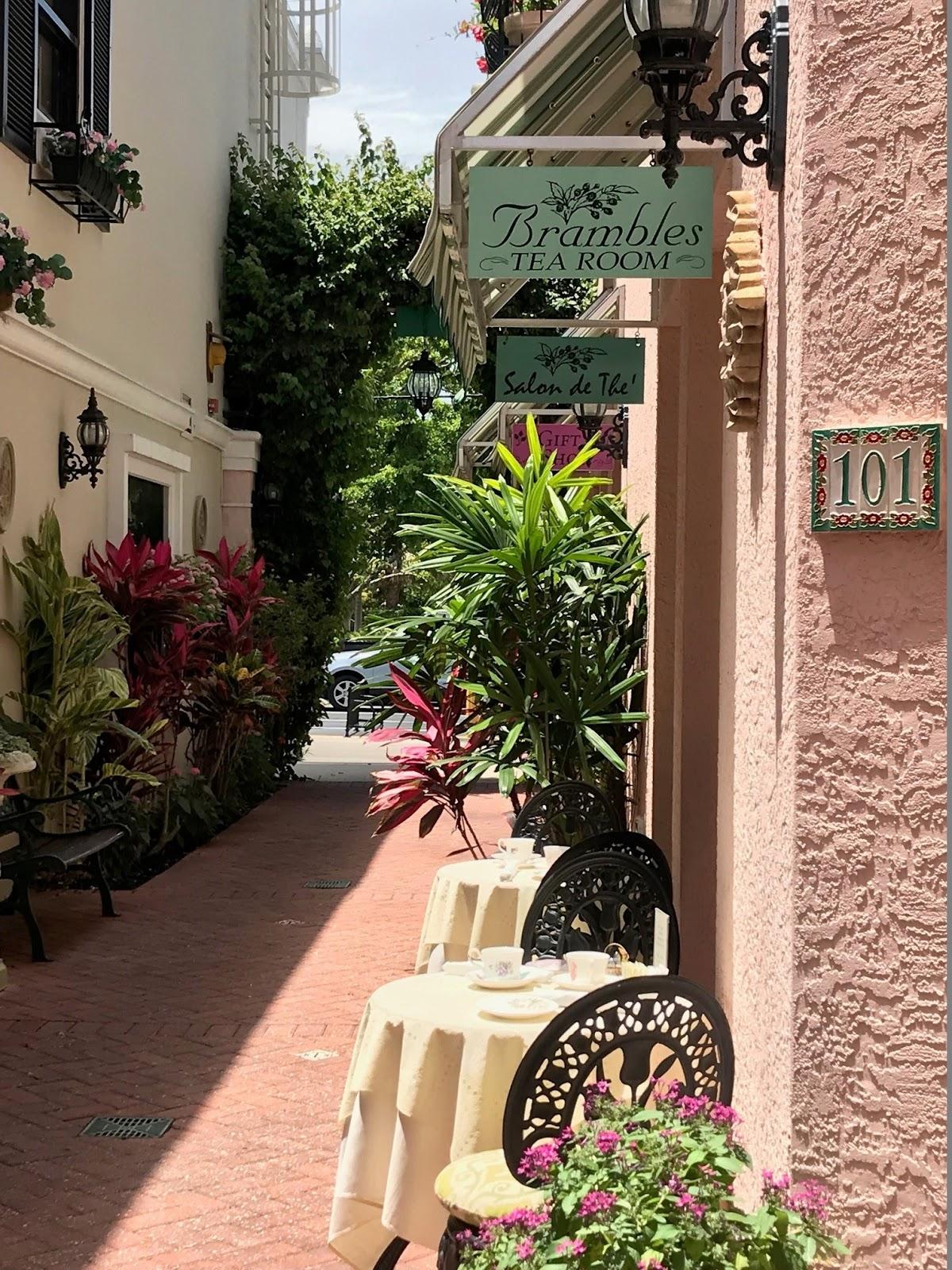 Brambles Tea Room In Naples Florida