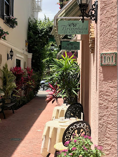 Brambles Tea Room Naples Florida Entrance