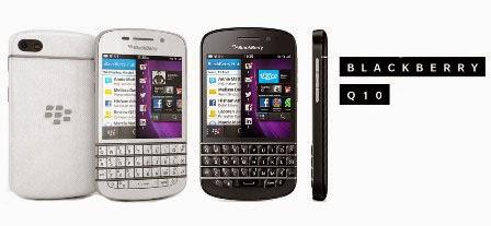 Harga Blackberry Q10 baru dan bekas, spesifikasi lengkap Blackberry Q10