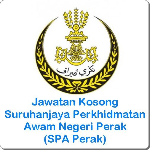 jawatan kosong SPA Perak 2016, jawatan kosong Suruhanjaya Perkhidmatan Awam Negeri Perak terkini, cara memohon kerja kosong SPA Perak 2016
