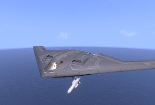 Arma3 アメリカ空軍MODのB-2爆撃機