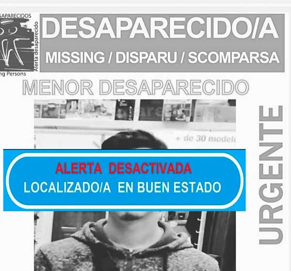 localizado buen estado menor desaparecido en Arucas