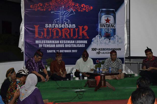 Multi Bintang Gelar Diskusi Budaya dan Pertunjukan Ludruk