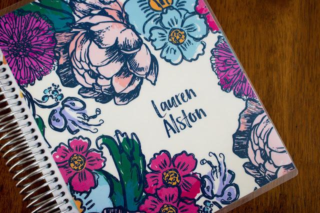 Lauren Alston's Erin Condren Life Planner
