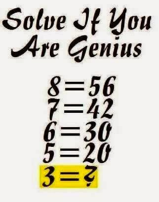 Solve This if you are genius