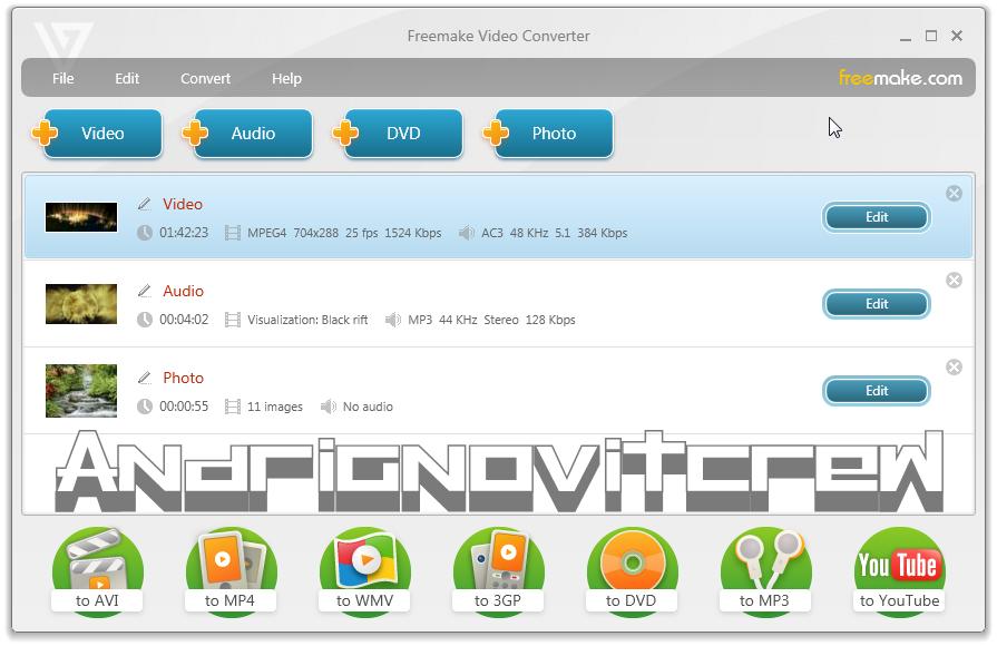 Software Video Converter Gratis Terbaik Terpopuler 2017 Freemake Video Converter 4.1.4