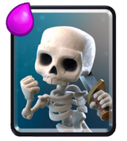 Kartu Skeletons Clash Royale