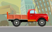 لعبة سيارة توصيل البضائع