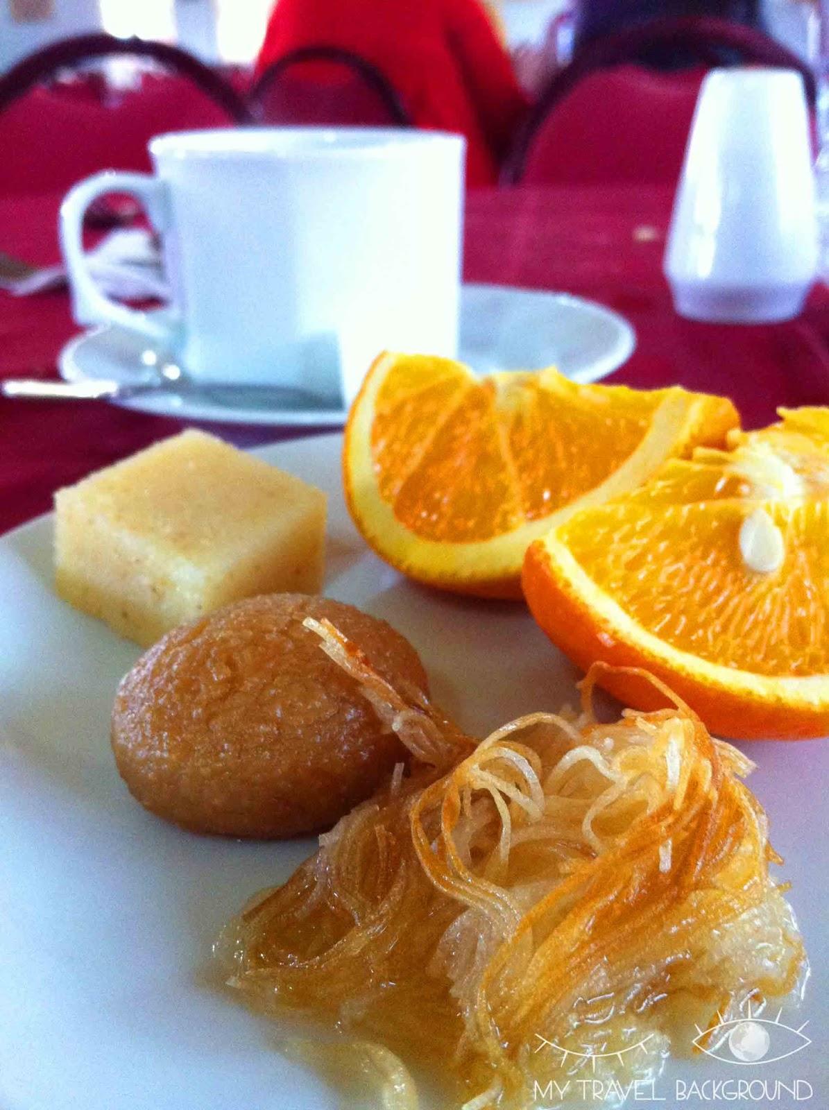 My Travel Background : 14 plats typiques dégustés en voyage - Desserts orientaux en Turquie, Antalya