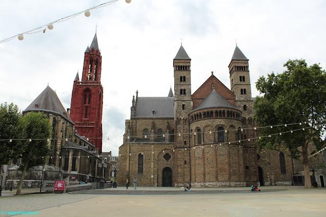Sint Servaas, Maastricht, Països Baixos, Art romànic