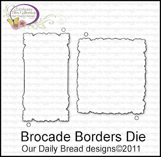 "Our Daily Bread designs ""Brocade Borders Dies"""