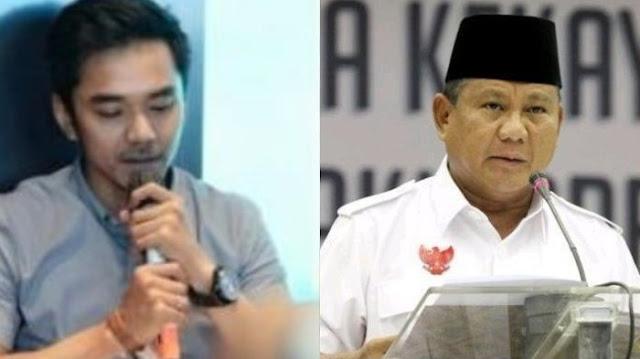 Jubir PSI Tantang Prabowo Keluarkan Data atau Minta Maaf secara Jantan