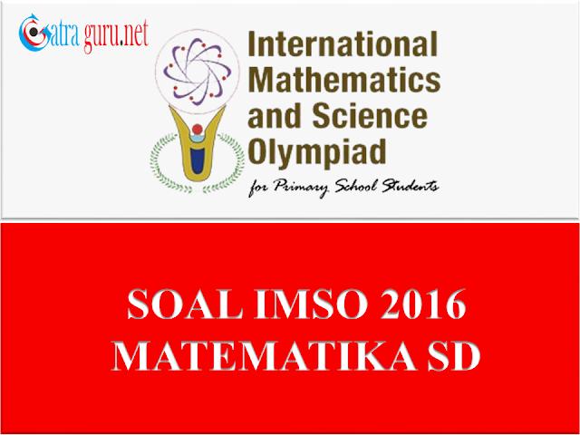 Soal IMSO Matematika 2016