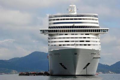 Los cruceros traerá 40 millones de reales a Balneário Camboriú este verano
