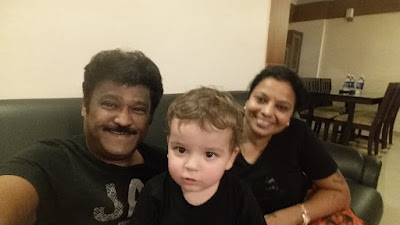 Jaggesh happy movement with grandson