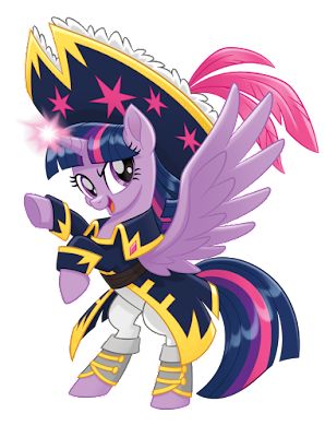MLP Movie Vector Pirate Twilight Sparkle
