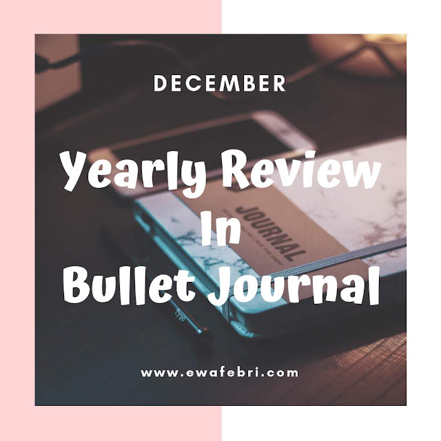 12 Months Bujo challenge December bye ewafebri