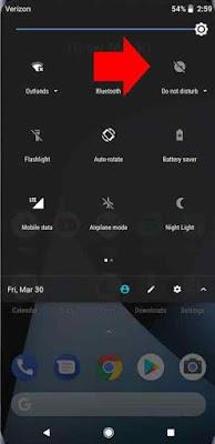 Mode Do Not Disturb atau dalam Bahasa indonesia  Cara Menggunakan Fitur Jangan Ganggu (Do Not Disturb) di Android Oreo