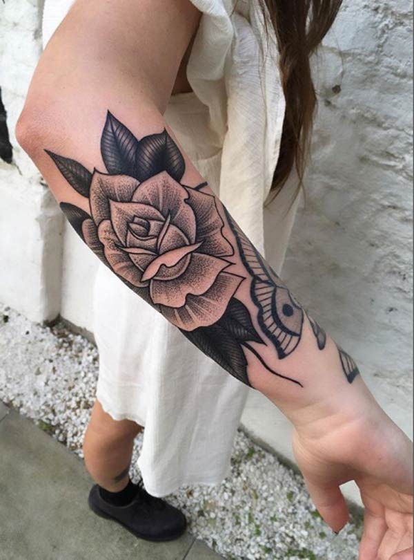 Rose Tattoos For Woman: Tattoos Design Ideas: 32 Best And Attractive Rose Tattoo