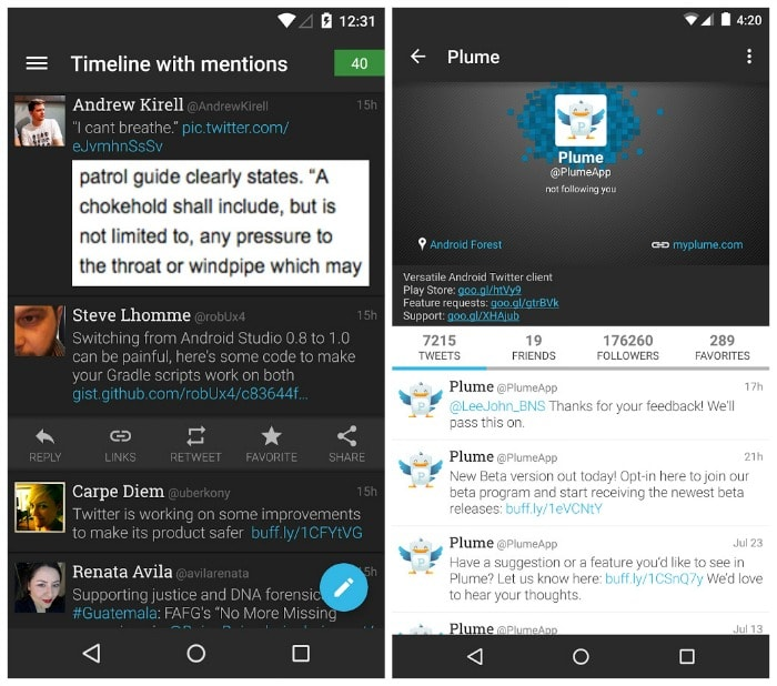 Plume Premium for Twitter APK Free Download