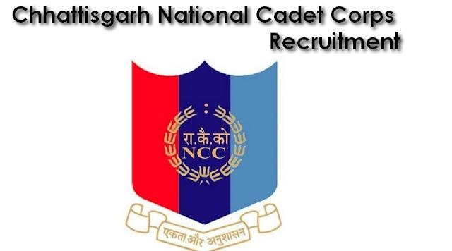 Chhattisgarh National Cadet Corps Recruitment 2017–2018 NCC 51 Vacancies