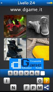 PACCHETTO 7 Soluzioni Trova la Parola - Foto Quiz con Immagini e Parole livello 24