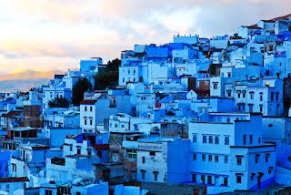 kota biru