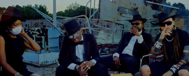 Fid Q Ft Diamond Platnumz & Rayvanny - Fresh Remix Video