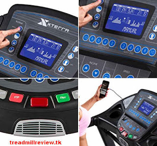 XTERRA Fitness TR600 Console