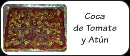 Coca tomate y atún