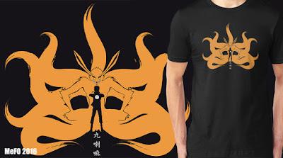 Naruto+shippuden+t+shirt+buy+online+cool+camiseta+anime+manga+otaku+comic+kyubi+kurama+ninja