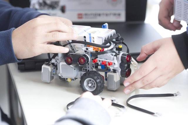 Τμήματα ρομποτικής σε όλες τις τάξεις του Α' Δημοτικού Σχολείου Ηγουμενίτσας
