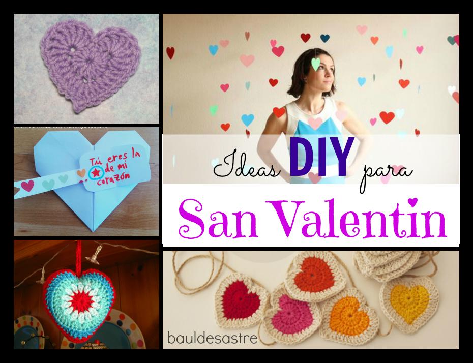 Ideas DIY para San Valentin