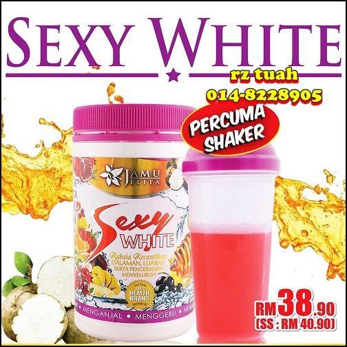 Jamu jelita sexy white