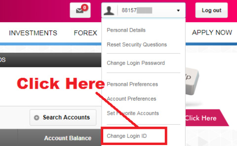 how to change user id in axis bank internet banking