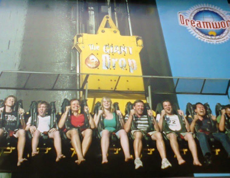 Giant Drop, DreamWorld, Aussie