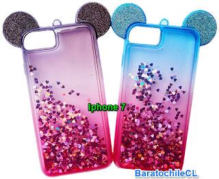 Carcasa agua diseño con oreja Iphone 7