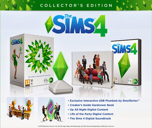 The Sims 4 模四 Collector's Edition 收藏家版