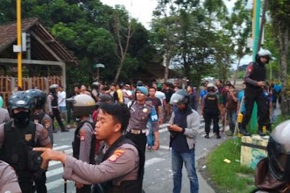 VIDEO Ribuan Banteng NGAMUK, Rumah Warga Bantul Dirusak!