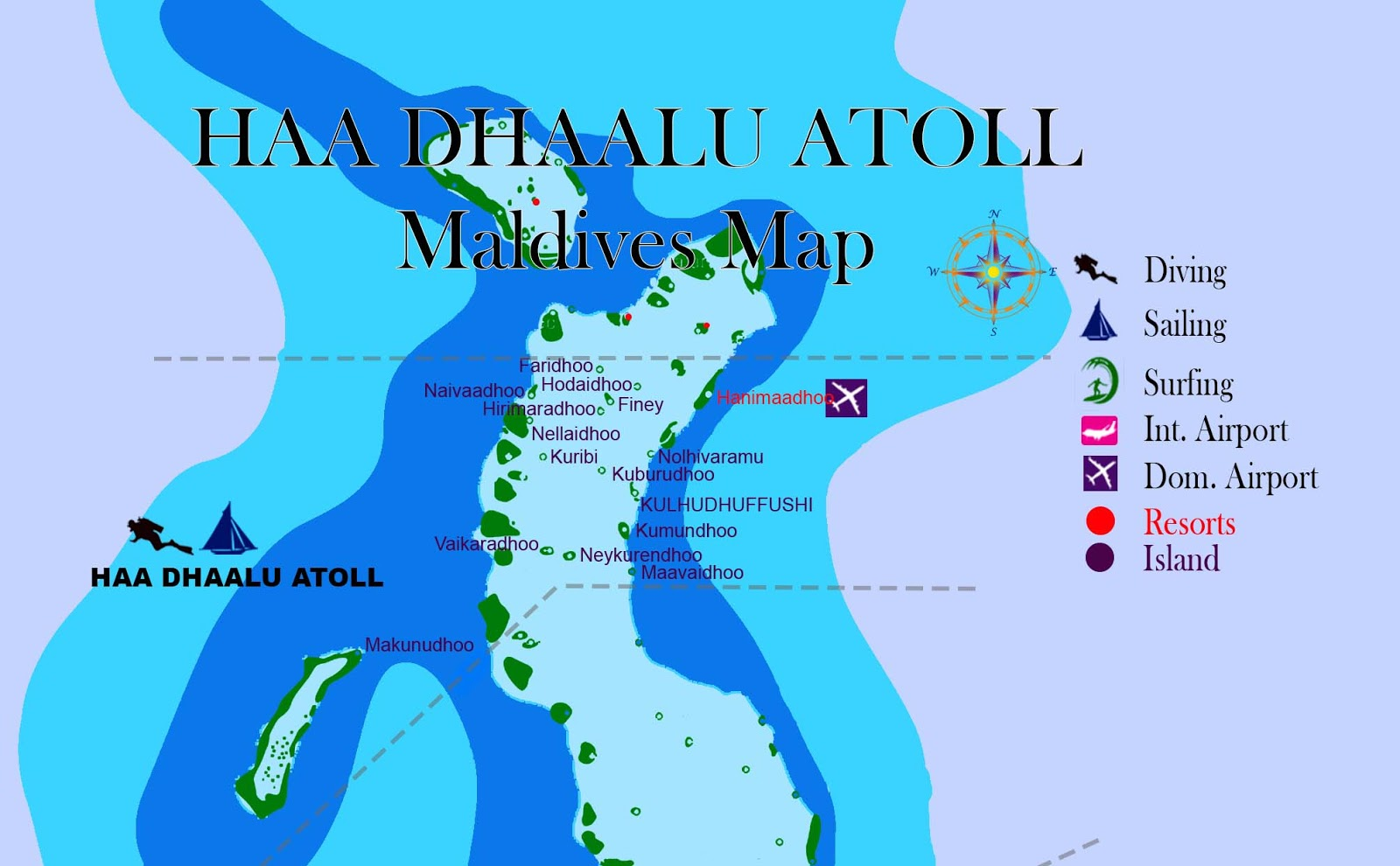 maldives map, maldives atolls