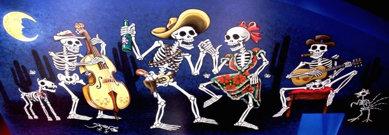 Lori 39 s adventures today is the day of the dead for Dia de los muertos mural