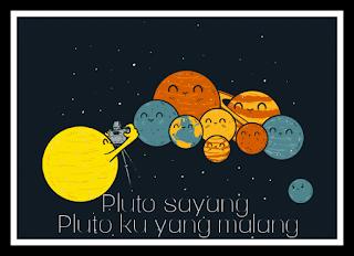 Penjelasan ilmiah tentang planet pluto yang tak dianggap sebagai planet