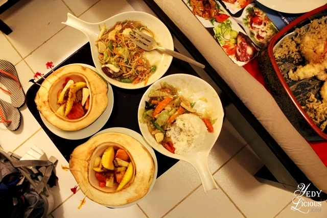 Room Service Food at Skylight Hotel Palwan Best Restaurants in Puerto Princesa Palawan Philippines YedyLicious Manila Food and Travel Blog